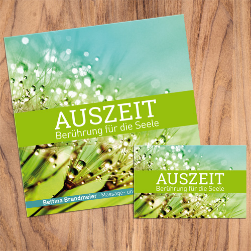 Broschüren Visitenkarten